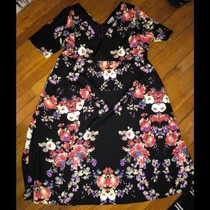 Alice & You Black Floral Dress